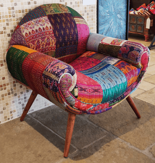 kantha chair